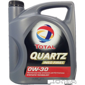 Моторное масло Total Quartz Ineo First 0W-30 4л