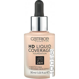Тональная основа Catrice HD Liquid Coverage (тон 010)