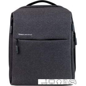 Рюкзак Xiaomi Mi Minimalist Urban Backpack (черный)