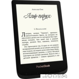 Электронная книга PocketBook Touch Lux 4 (черный)