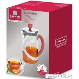 Френч-пресс Rondell Crystal Red RDS-935