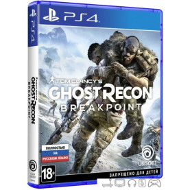Игра Tom Clancy's Ghost Recon: Breakpoint для PlayStation 4