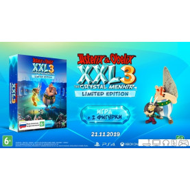 Игра Asterix & Obelix XXL 3 The Crystal Menhir Limited Edition для Nintendo Switch
