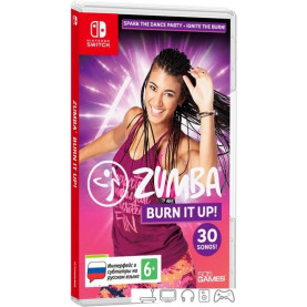 Игра Zumba Burn It Up! для Nintendo Switch