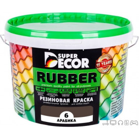 Краска Super Decor Rubber 3 кг (№06 арабика)