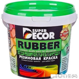 Краска Super Decor Rubber 1 кг (№17 кирпич)
