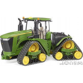 Bruder John Deere 9620RX with track belts 04055