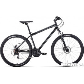 Велосипед Forward Sporting 27.5 3.0 disc р.17 2021 (черный)
