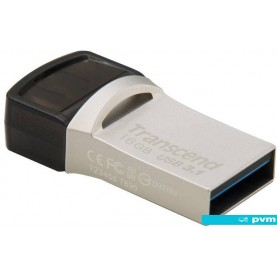 USB Flash Transcend JetFlash 890S USB3.1 + Type-C 16GB [TS16GJF890S]