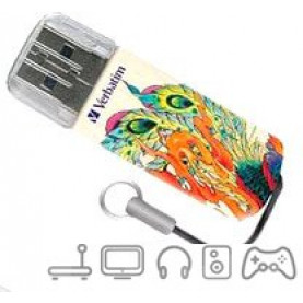 USB Flash Verbatim Mini Tattoo Edition Phoenix 16GB [49887]