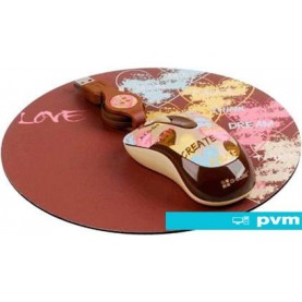 Мышь + коврик G-Cube So Happy Together Love with mouse pad (GLMH-6120L)