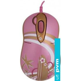 Мышь + коврик G-Cube Golden Aloha Golden Surfer with mouse pad (GMLA-206SF)