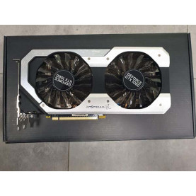 Видеокарта Palit GeForce GTX 1060 JetStream 6GB GDDR5 [NE51060015J9-1060J] (УЦЕНЕННАЯ)